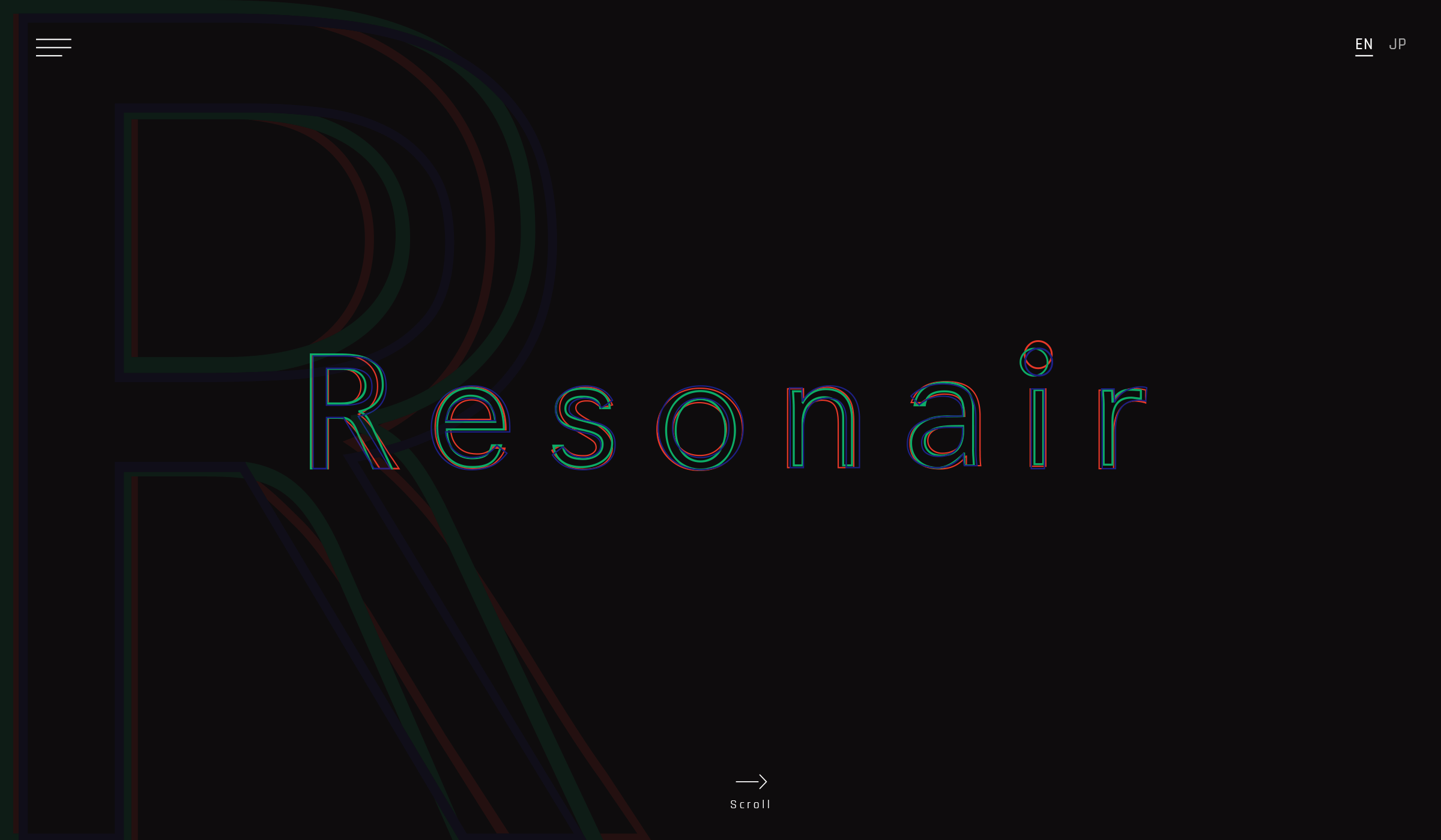 Resonair -Brand site-